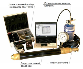 Электровоздушный радиальный прессиометр ПЭВ-89МК