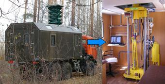 Установка статического зондирования на базе КАМАЗ