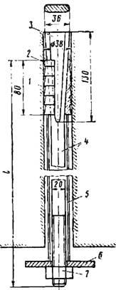 Конструкция распорного анкера СКШ