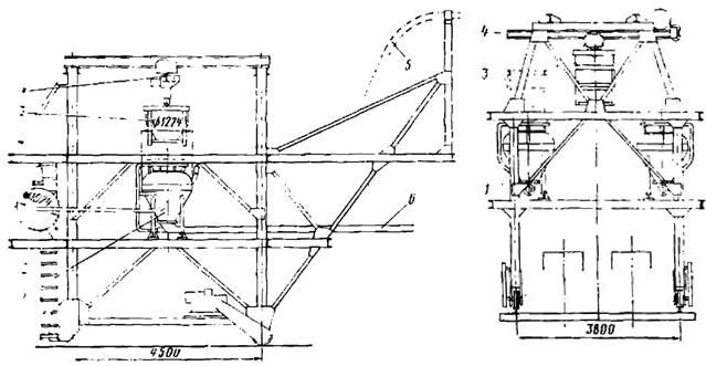Самоходная бетоноукладочная установка
