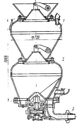 Машина БМ-60 для нанесения набрызгбетона