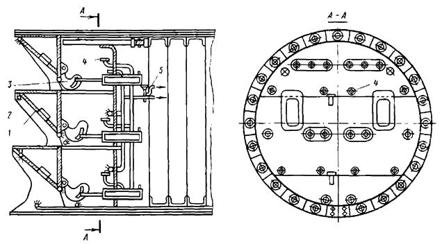 Гидромеханизированный герметический щит