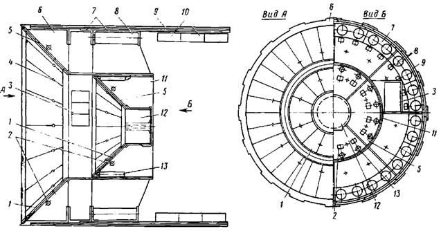 Агрегат-щит для герметизированной проходки тоннелей