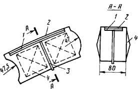 Конструкция пирамидального блока
