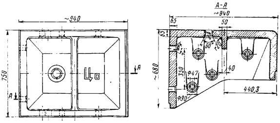 Конструкция тюбинга Цо
