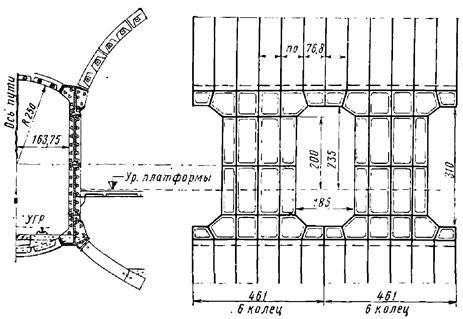 Конструкция несущих чугунных стен