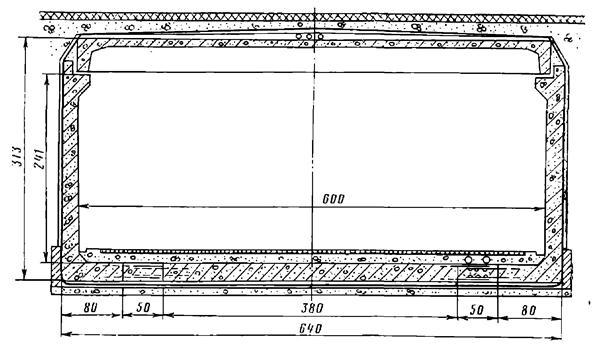 Конструкция подходного коридора