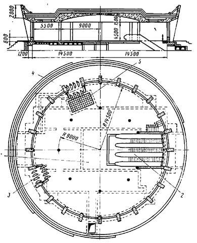 Отдельно стоящий наземный вестибюль глубоко заложенных станций