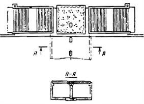 Схема конструкции пешеходного тоннеля