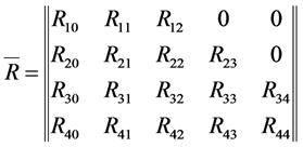 Матрица влияния R