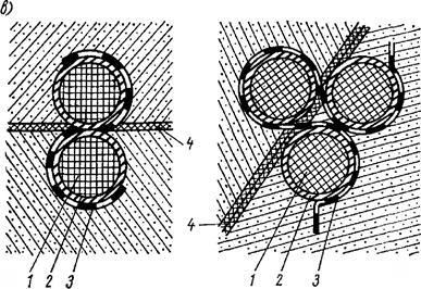 Профильное уплотнение, монтируемое из резиновых или ПВХ-элементов