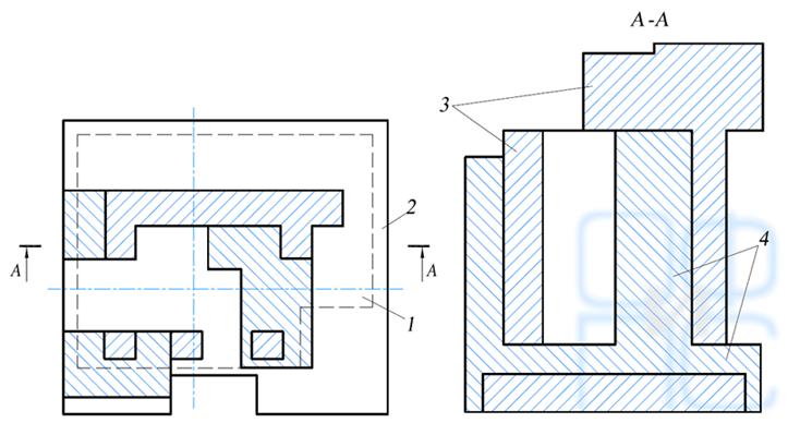 Схема усиления фундамента под центрифугу