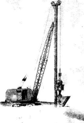 Кран-экскаватор с навесным оборудованием