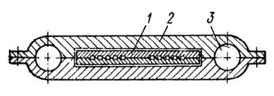 Обсадная труба для погружения бумажных дрен