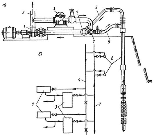 Эжекторная установка без циркуляционного резервуара