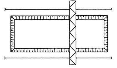 Схема с использованием козлового крана