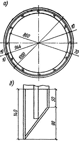 План головного и стыкового кольца. Деталь ножа