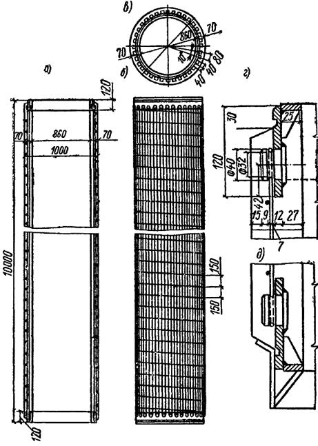 Железобетонная свая-оболочка диаметром 100см с предварительно-напряженной арматурой