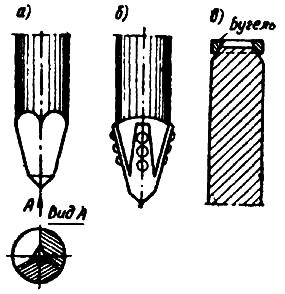 Детали деревянных свай