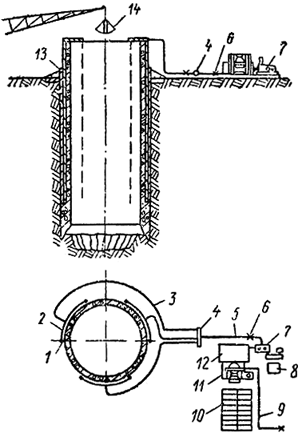 Система приготовления и подачи тиксотропного раствора
