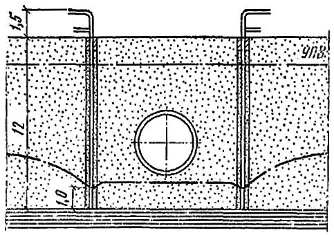 Схема для определения параметров насосов для эжекторных установок ЭИ-70