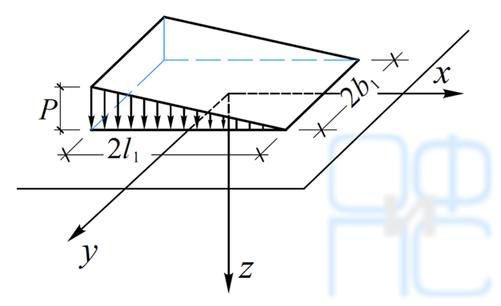 Определение вертикальных нормальных напряжений
