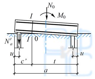 Определение сечения верхней арматуры