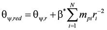Момент инерции массы свайного фундамента относительно вертикальной оси