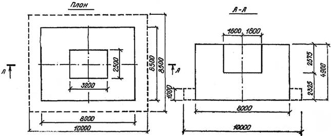 Фундамент штамповочного молота 17КП