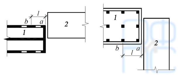 Определение максимального перекоса конструкций существующего здания