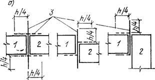 Расположение разделительной шпунтовой стенки в плане