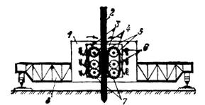 Механизм для погружения свай в грунт